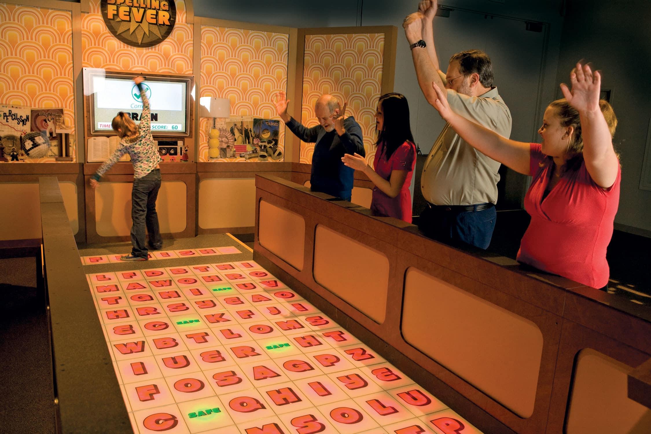 Grand Rapids Public Museum Mindbender Mansion exhibit, Puzzles & Pints