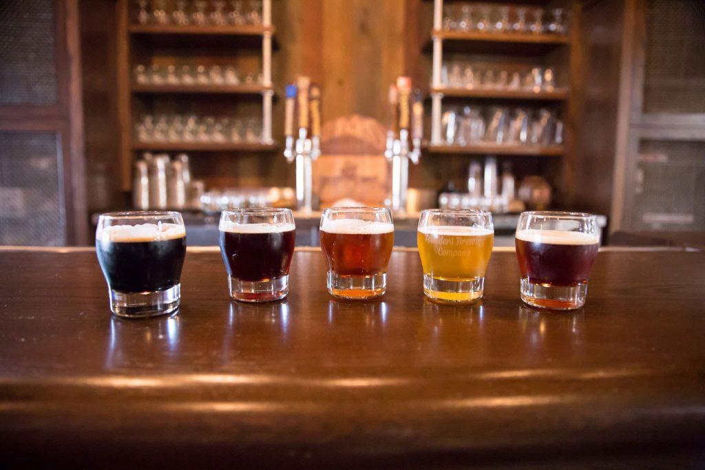 Enjoy a sampling of Founders' beers