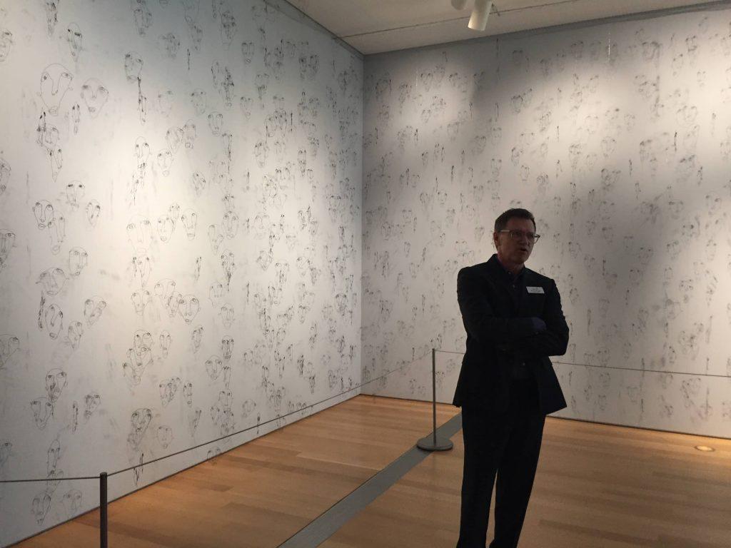 "Ron Platt, GRAM's chief curator discusses ""Enmesh"" ArtPrize entry."