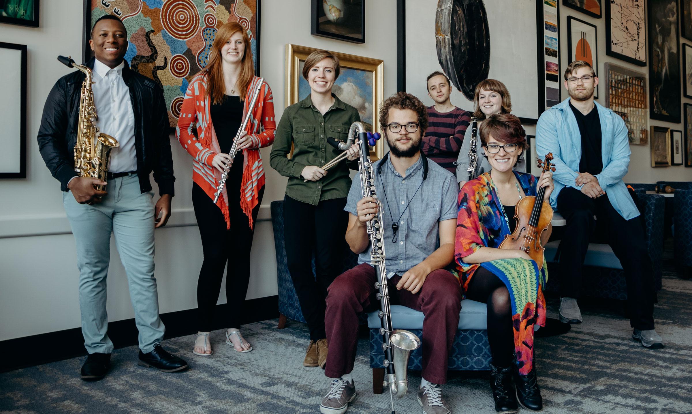 GVSU New Music Ensemble celebrates release of