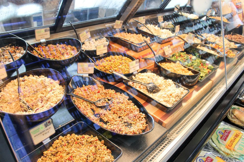 Kingma's Market's deli counter offers several to-go options.
