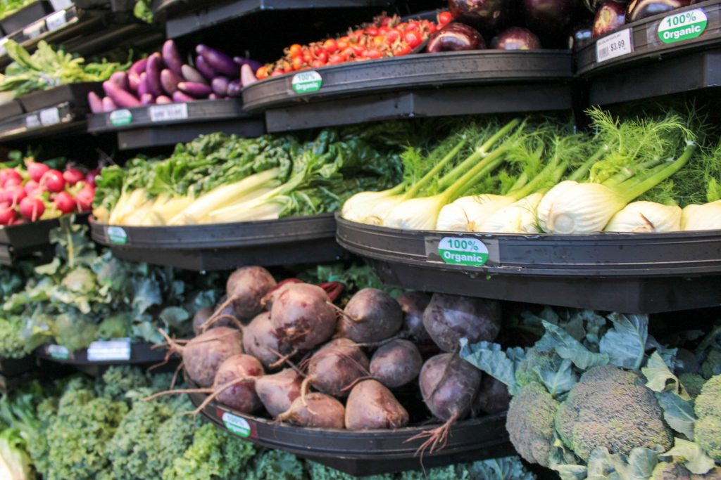 Kingma's Market offers organic produce year round.