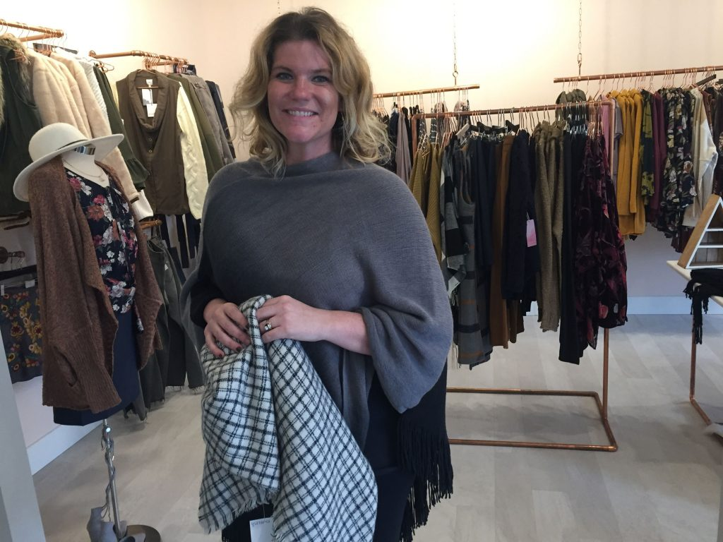 Lisa Miller focuses on personal styling.