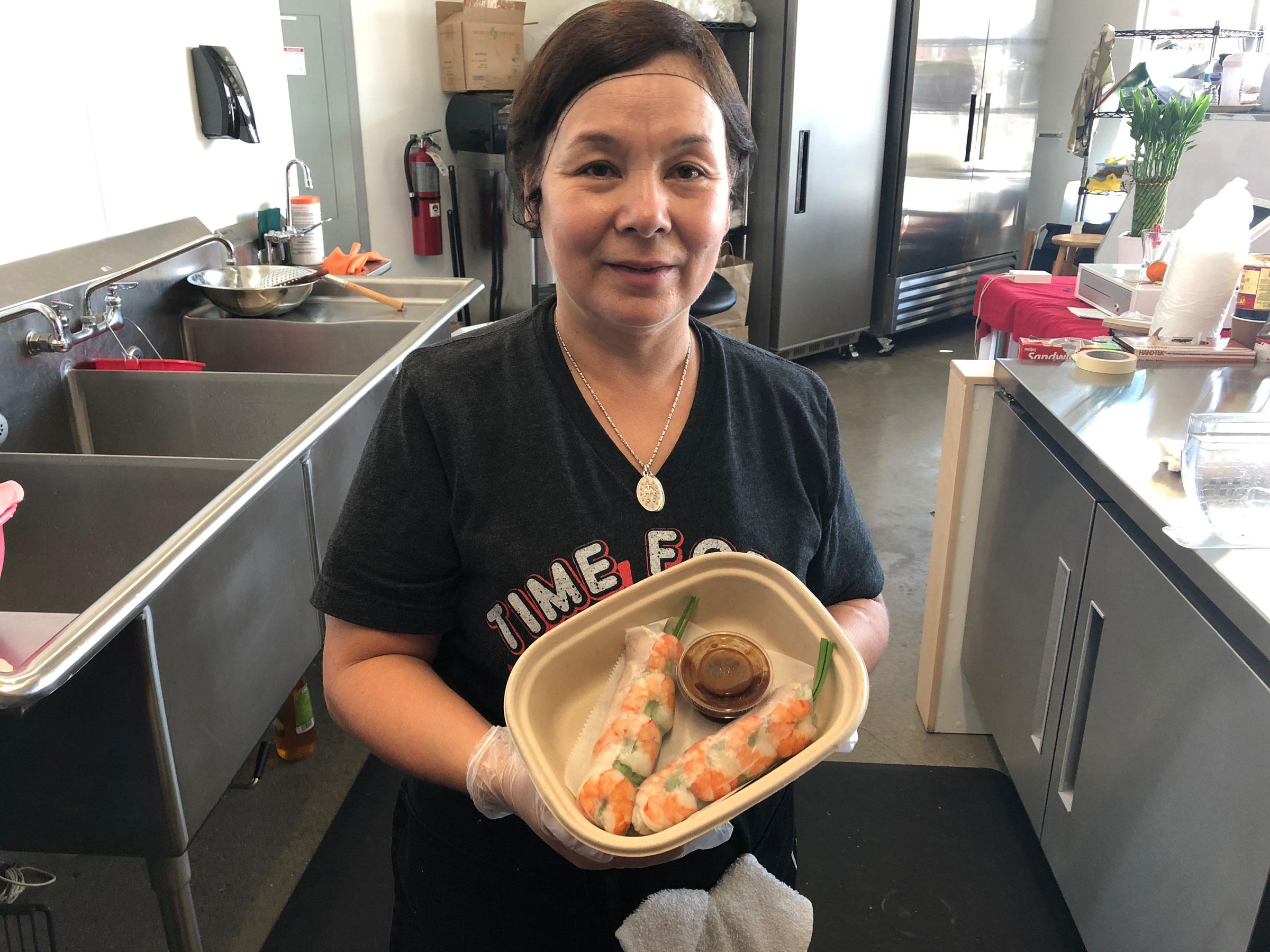 Pho 616 head chef Cam Loan Nguyen.