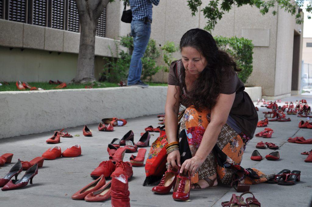 Los Zapatos Rojos in El Paso, Texas, 2012