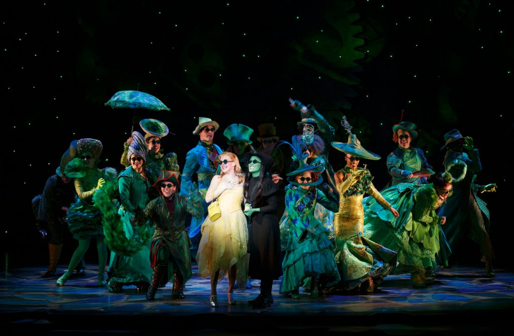 Wicked, The National Touring Company of Wicked, 2015 Photo by Joan Marcus