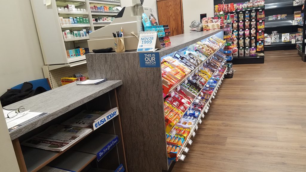 The store will carry most of the same inventory that it previously carried.