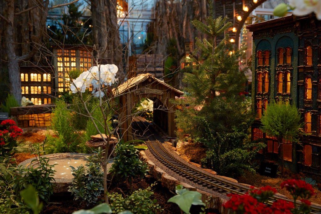 Frederik Meijer Gardens transforms into a winter wonderland for the holiday season.