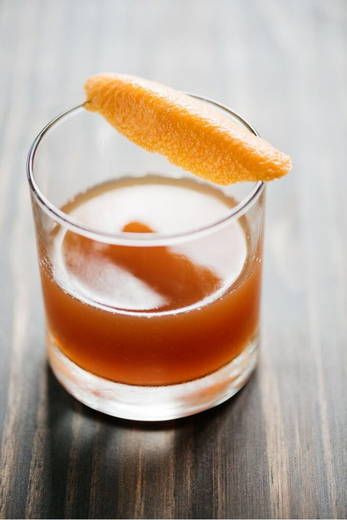 Try the Four Founders cocktail at Wheelhouse.