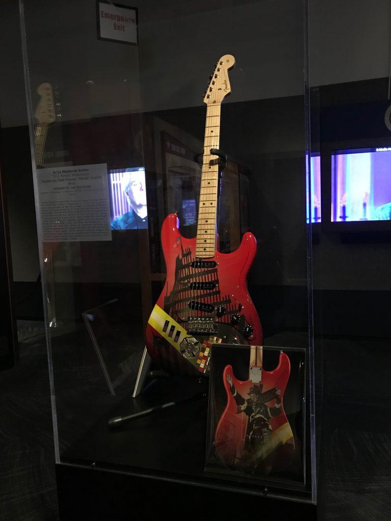 9/11 Memorial Guitar