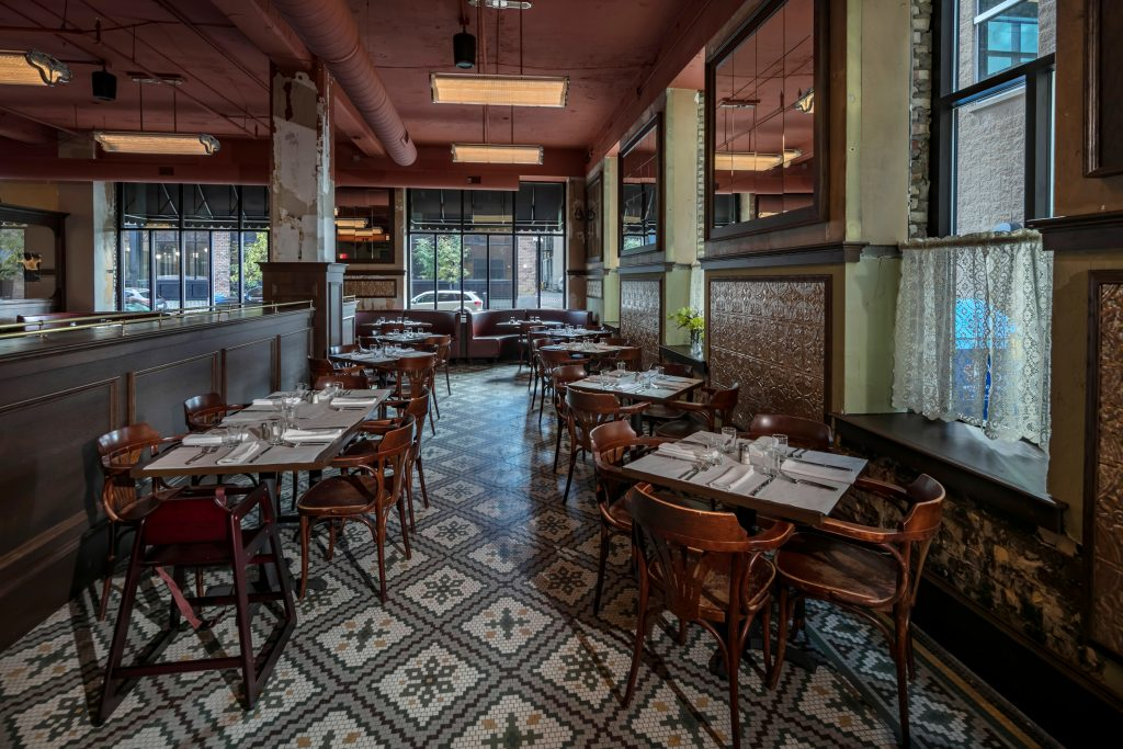 """New Hotel Mertens serves up traditional """"meat & potatoes"""" French cuisine."""