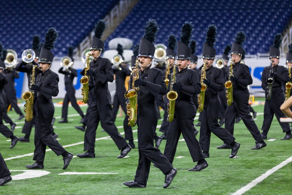 Rockford High School Marching Band is only the third band from Michigan to be selected to perform at the Macy's Thanksgiving Day Parade in the parade's history.