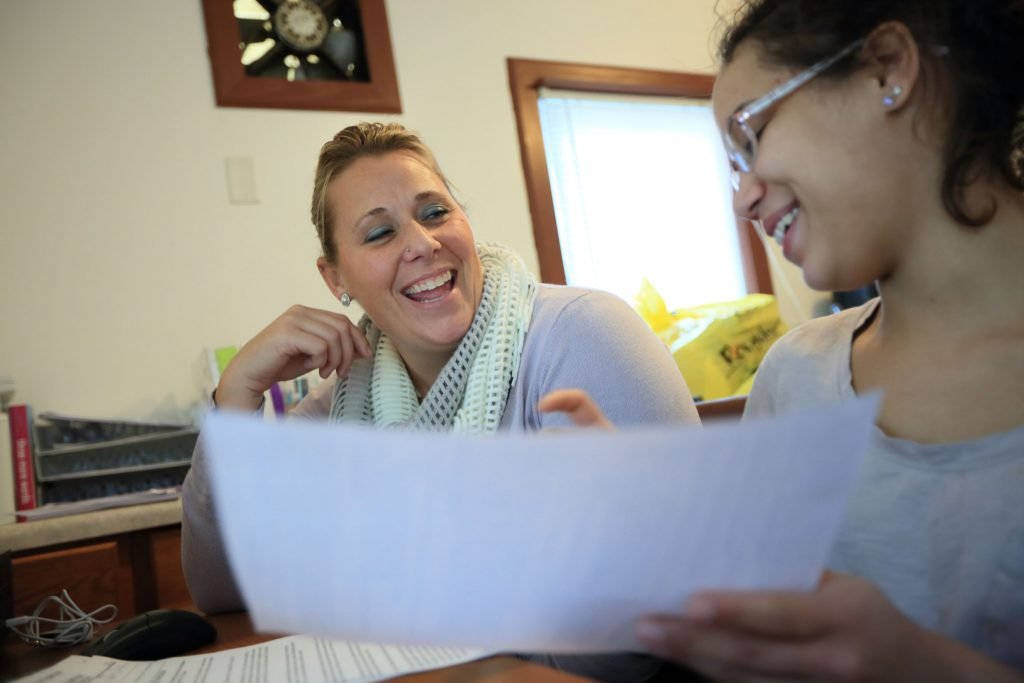 Teen girls in foster care often have trouble finding a home that will take them in because of negative stereotypes.