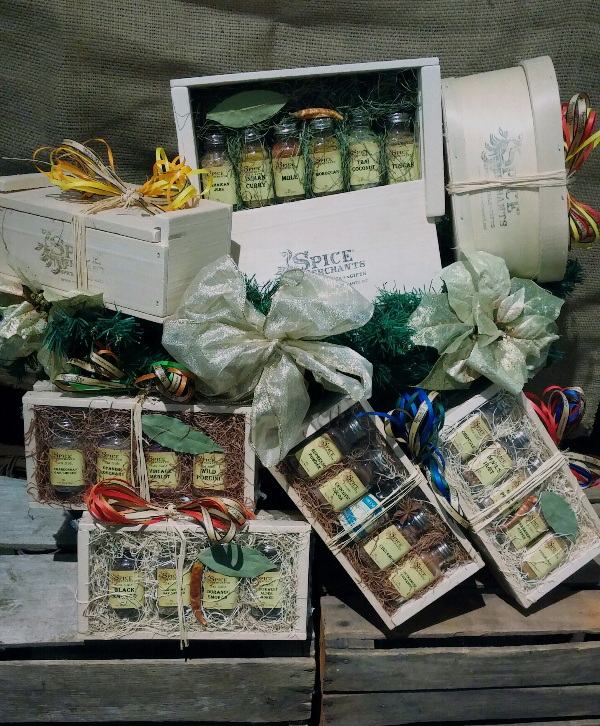 Spice Market will help you create the perfect gift set.