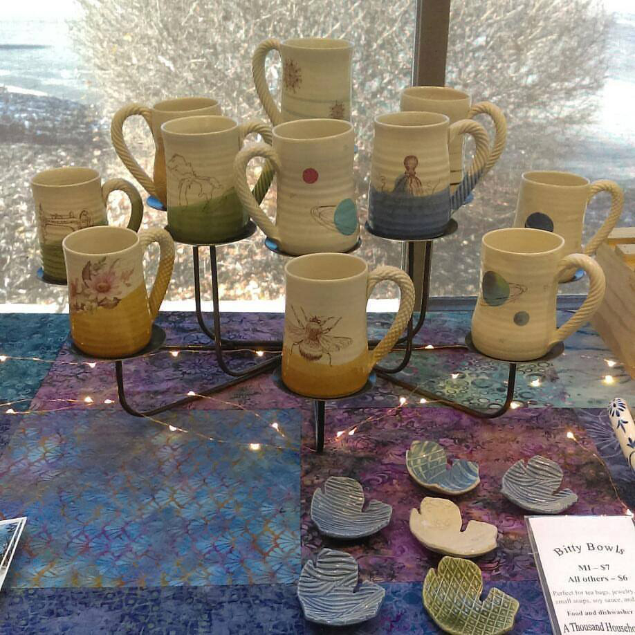 White Feather Studio is participating in A Very Merry Market Day.