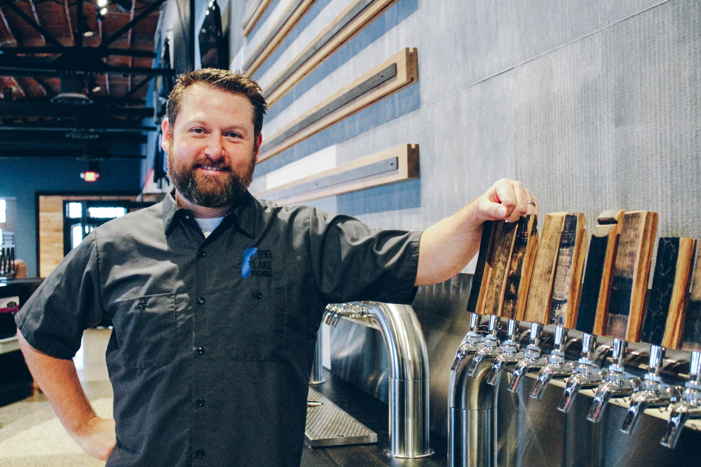 Big Lake Brewing has grown to a 15-barrel system.