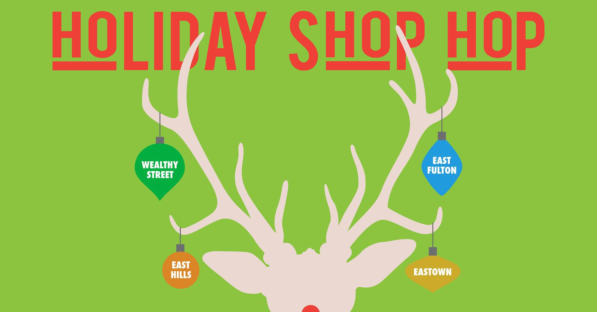 Grand Rapids' Uptown neighborhood hosts annual Holiday Shop Hop.