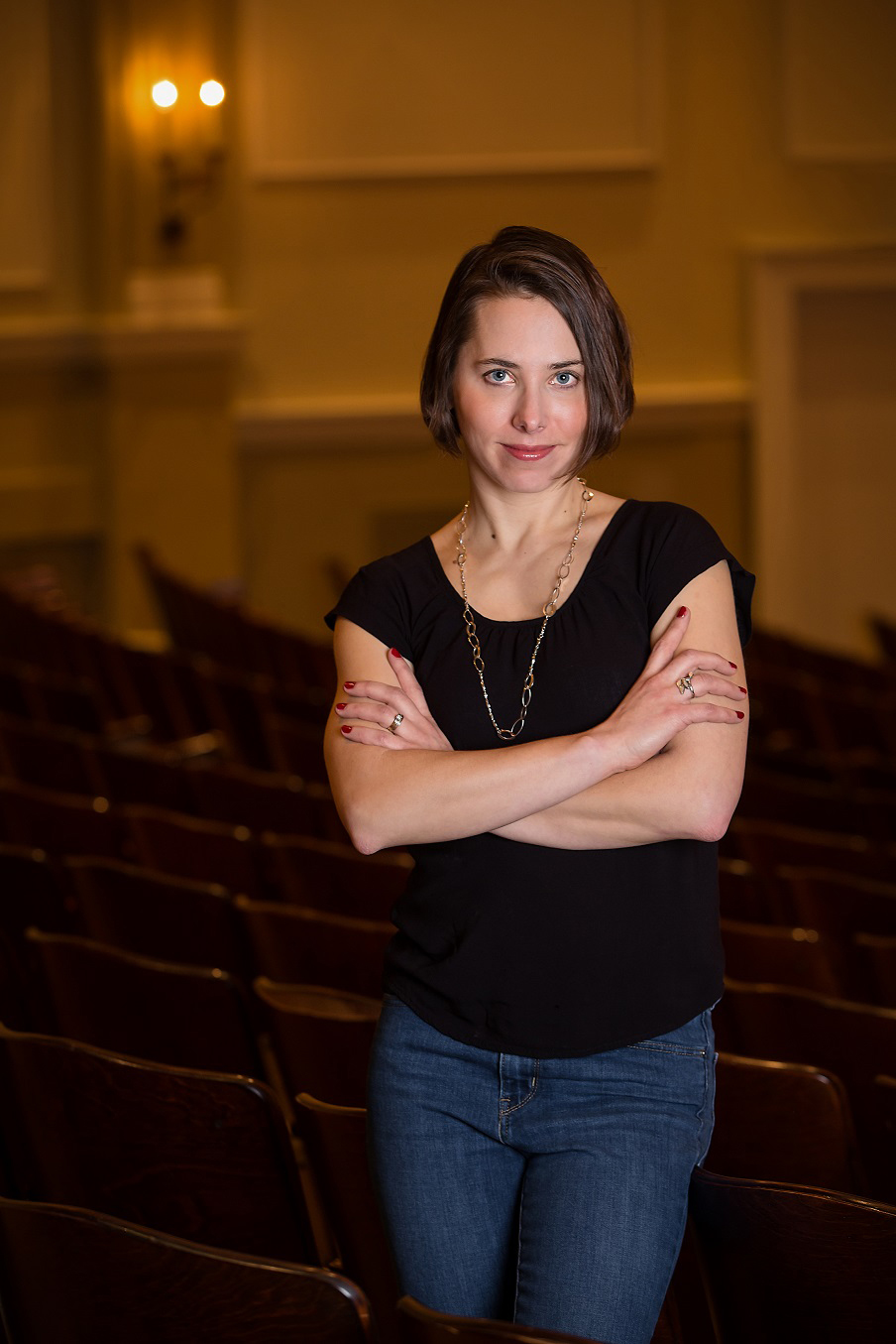 Local author Kristina Riggle