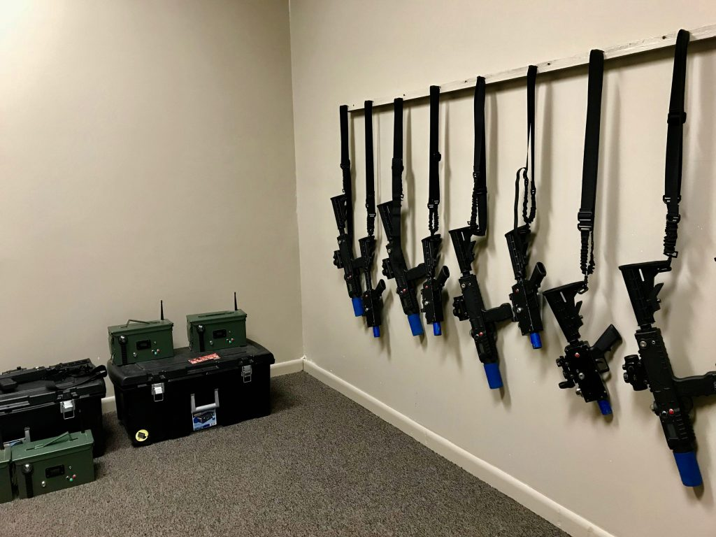 Battle GR offers tactical laser tag experience for kids and adults.