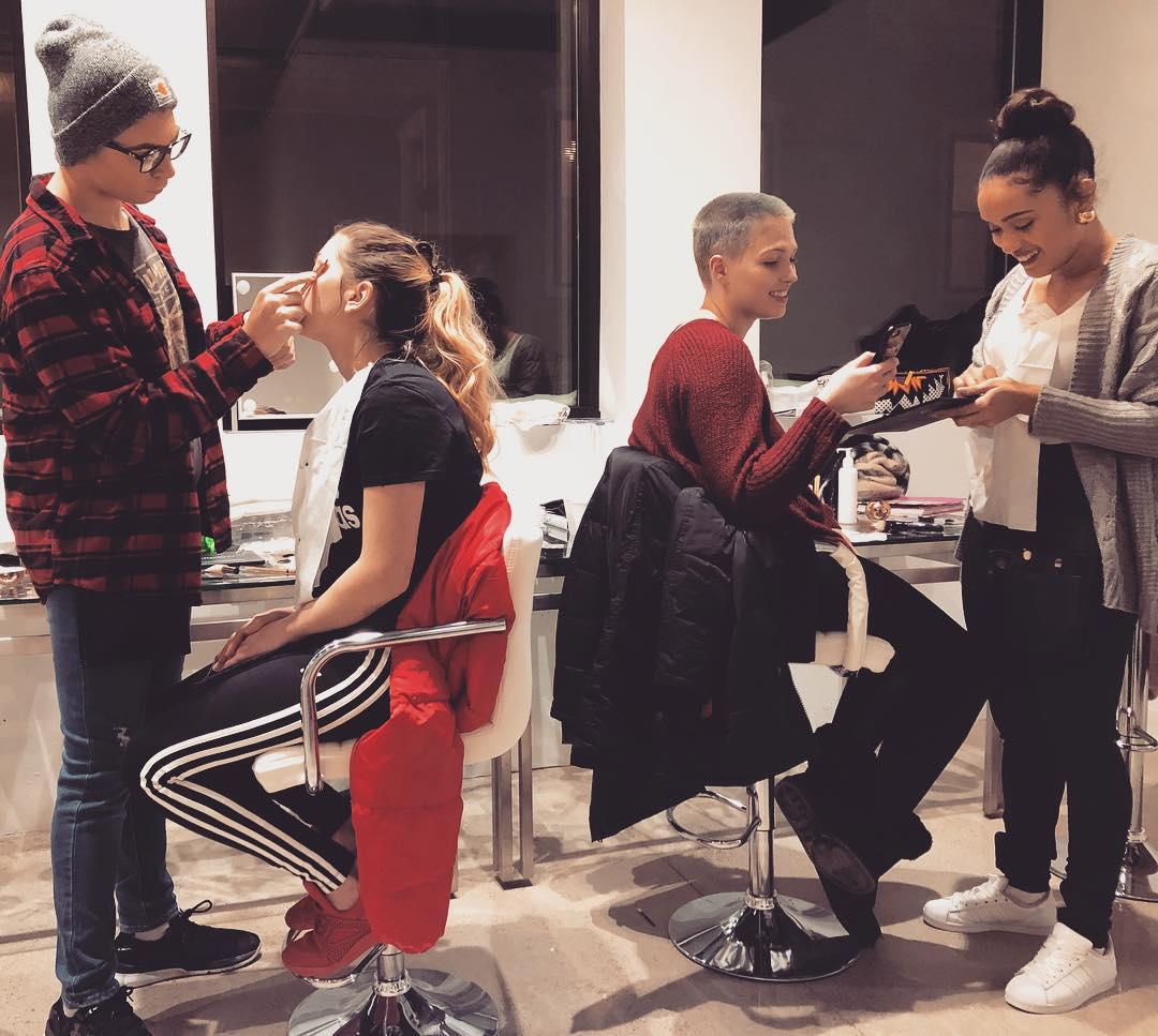 Makeup BLVD opens doors on Wealthy Street.
