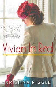 """""""Vivian in Red"""" was released in paperback earlier this year."""