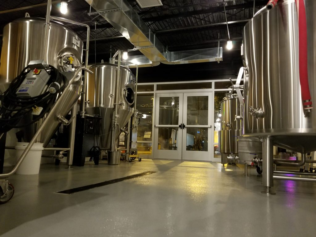 Brass Ring Brewery focuses on small-batch, pub-style ales, porters and stouts.