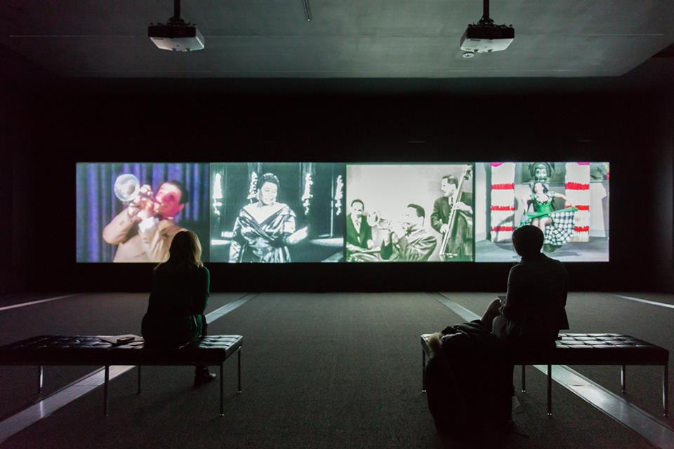 """Christian Marclay: Video Quartet"" at GRAM. Photo courtesy of GRAM."