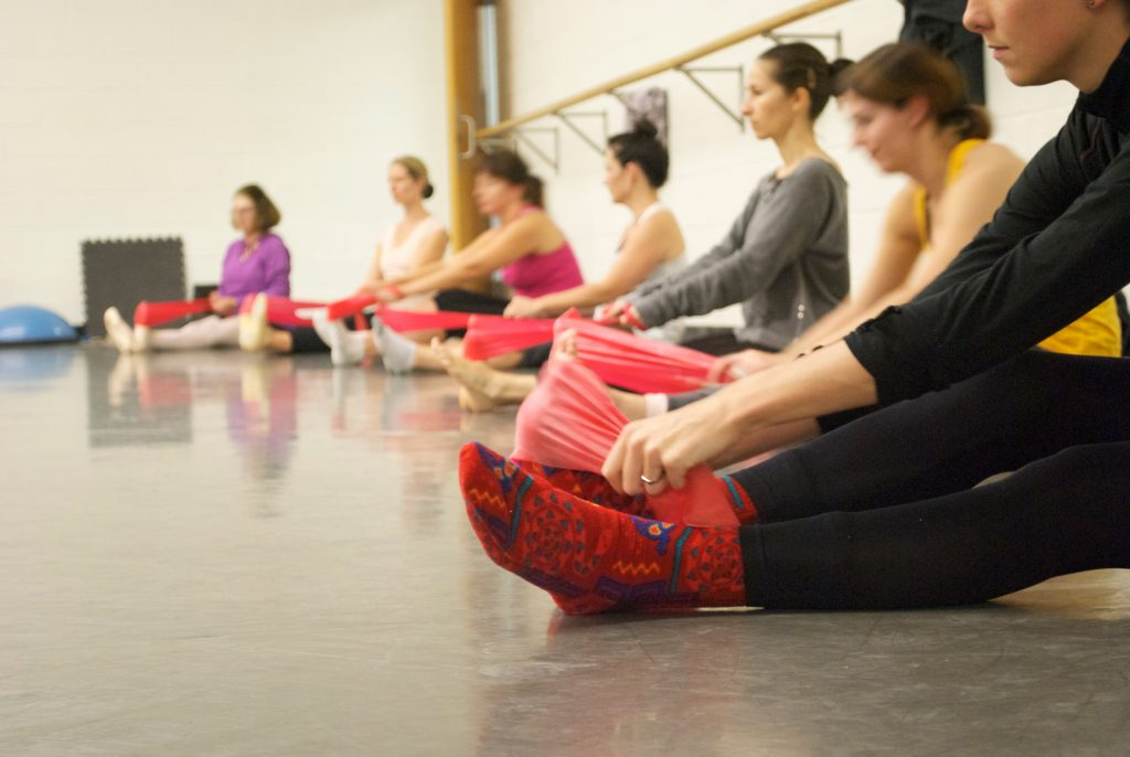 Grand Rapids Ballet offers beginner and intermediate level adult ballet classes