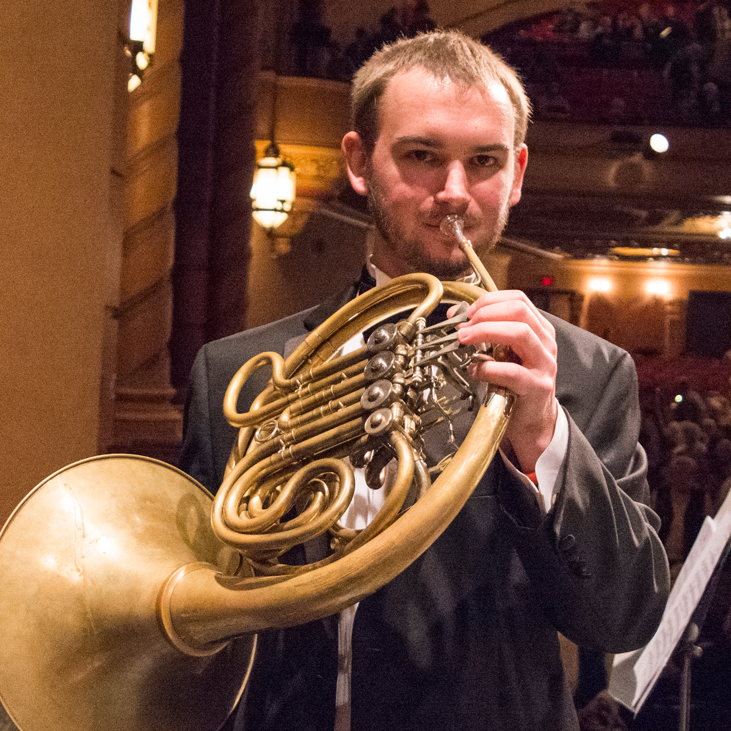 Paul Clifton, principal horn, joins West Michigan Symphony for