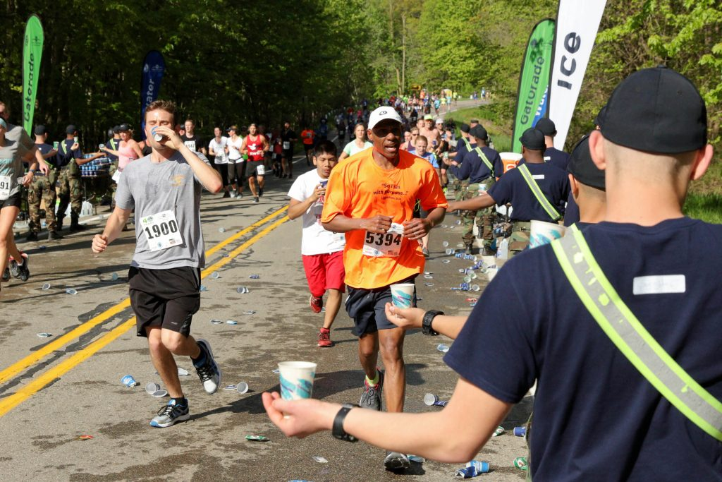 This year's Fifth Third River Bank Run takes place Saturday, May 12.