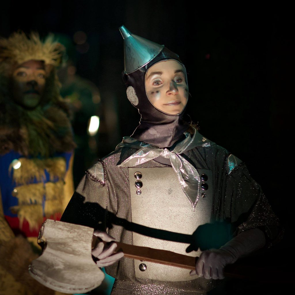"""Tin Man, from Grand Rapids Ballet Junior Company's """"Wizard of Oz"""" production."""