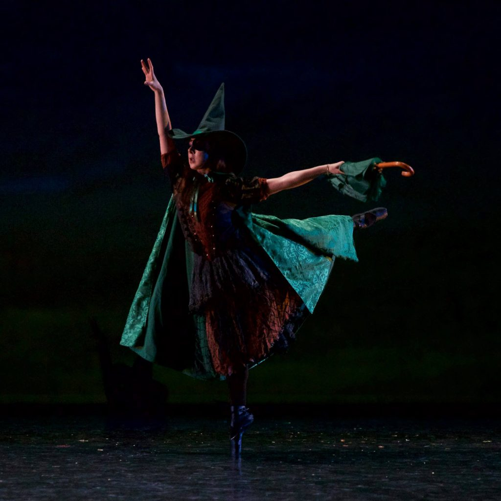 """Wicked Witch from Grand Rapids Ballet Junior Company's """"Wizard of Oz"""" production."""
