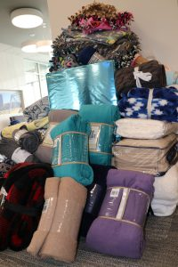 United Bank blanket donation drive