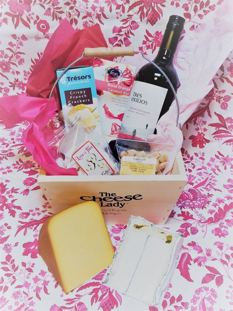 The Cheese Lady also has you covered if you're looking for a grab and go option this Valentine's Day.