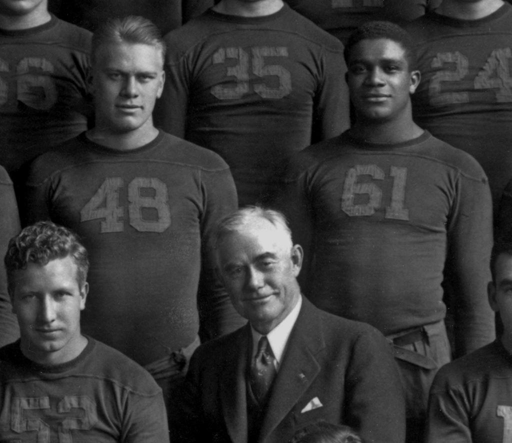 """""""Victors of Character"""" tells the story of football players Gerald R. Ford and Willis Ward."""