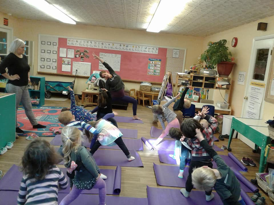 AM Yoga offers kid-focused classes to help children learn how to practice self-care.