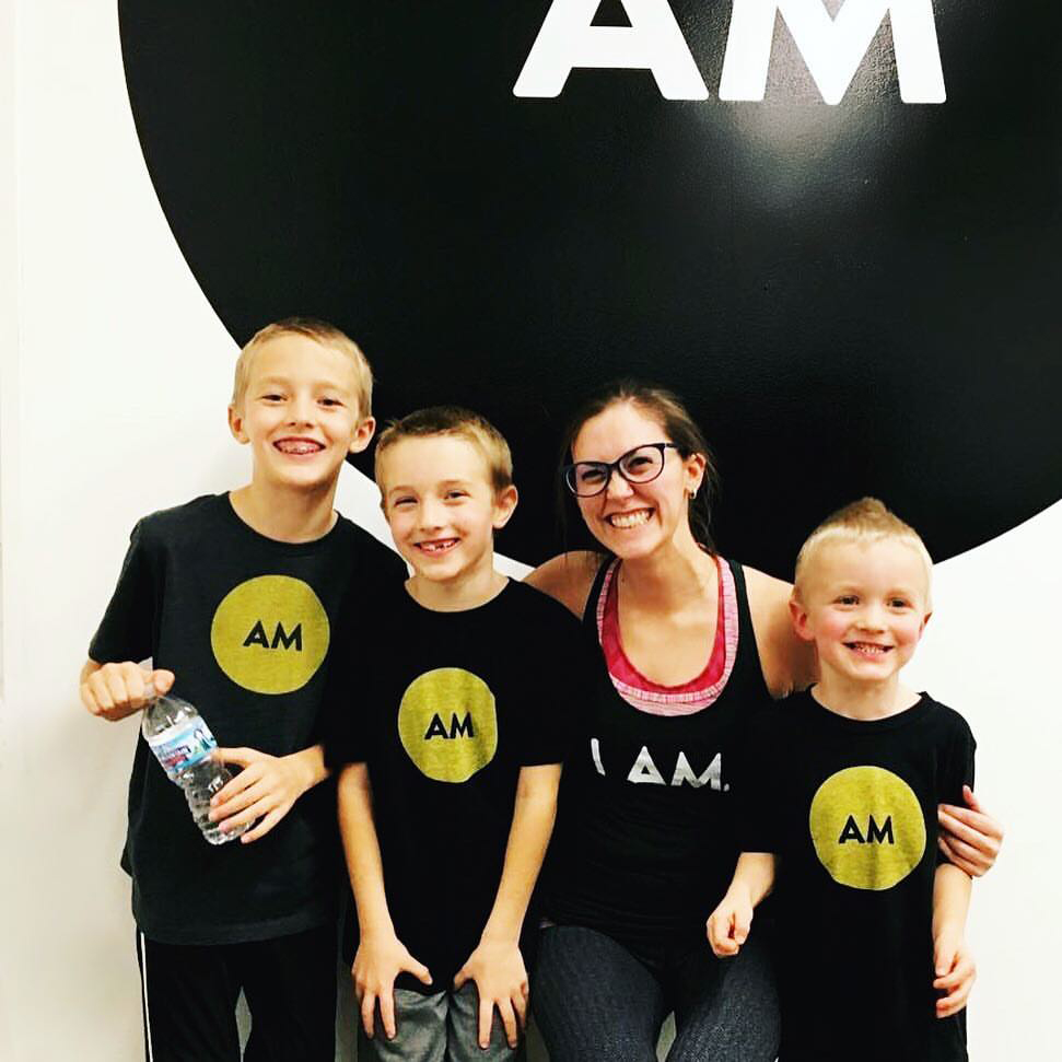 AM Yoga offers classes designed for kids.