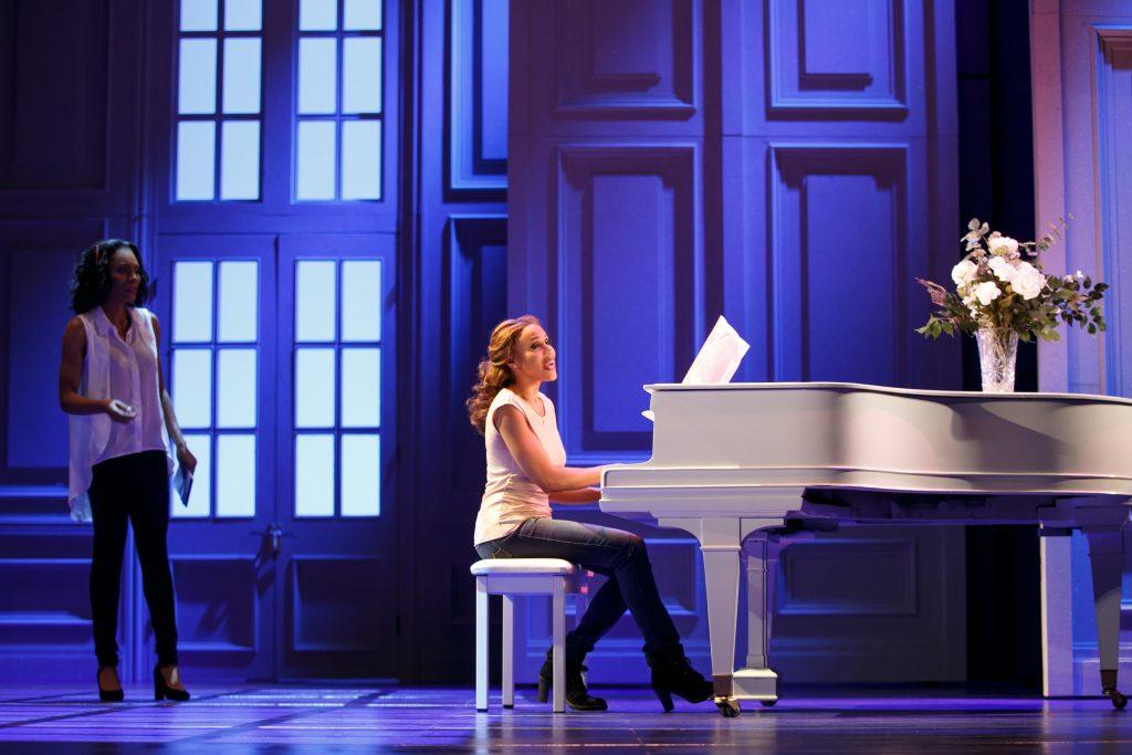 Jasmin Richardson as Nicki Marron and Deborah Cox as Rachel Marron in The Bodyguard