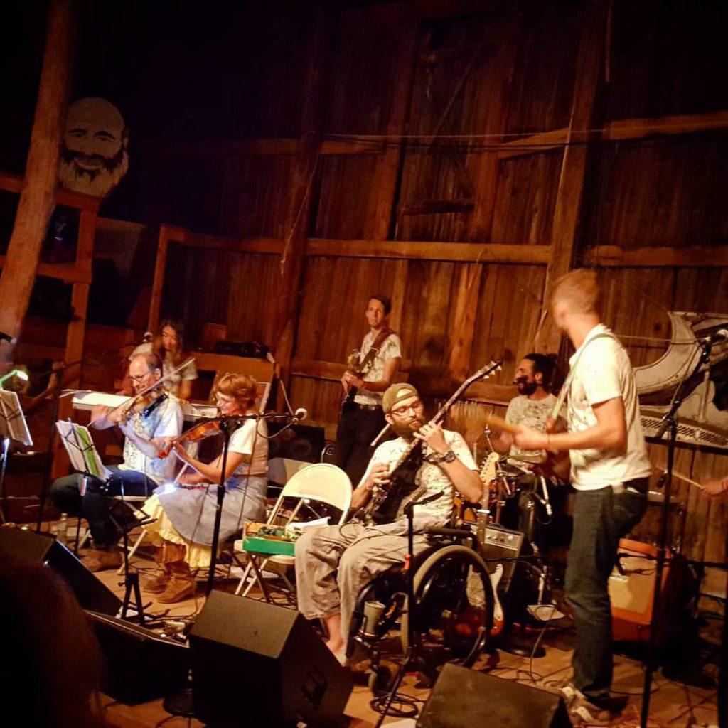 Dan Rickabus' planetarium show will feature a 10-piece band.
