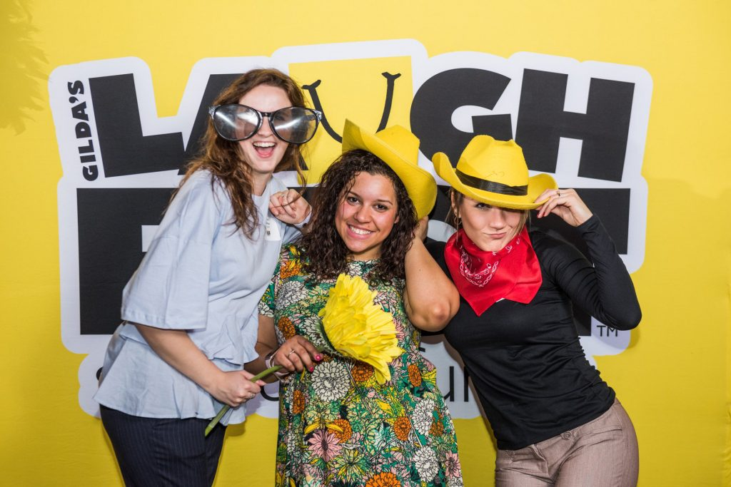 LaughFest brings people together with laughter.