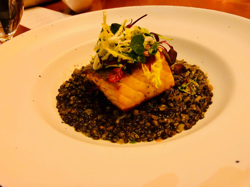 six.one.six salmon and lentils