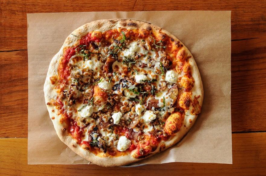 Harmony Hall will soon serve pizza.