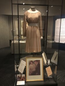 The dress Betty Ford wore during her controversial 60 Minutes interview