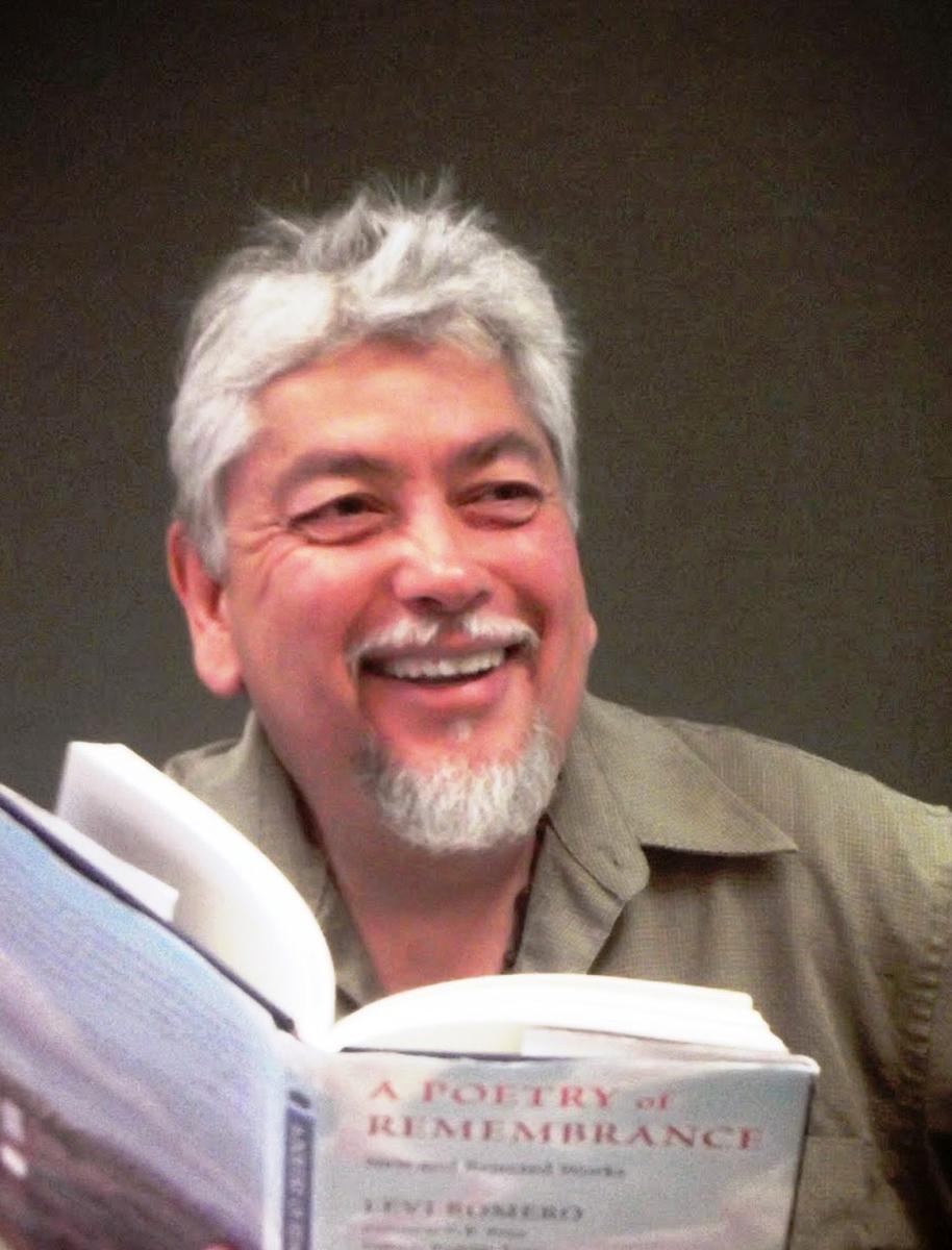 Poet Levi Romero, Photo by Xanath Carraza