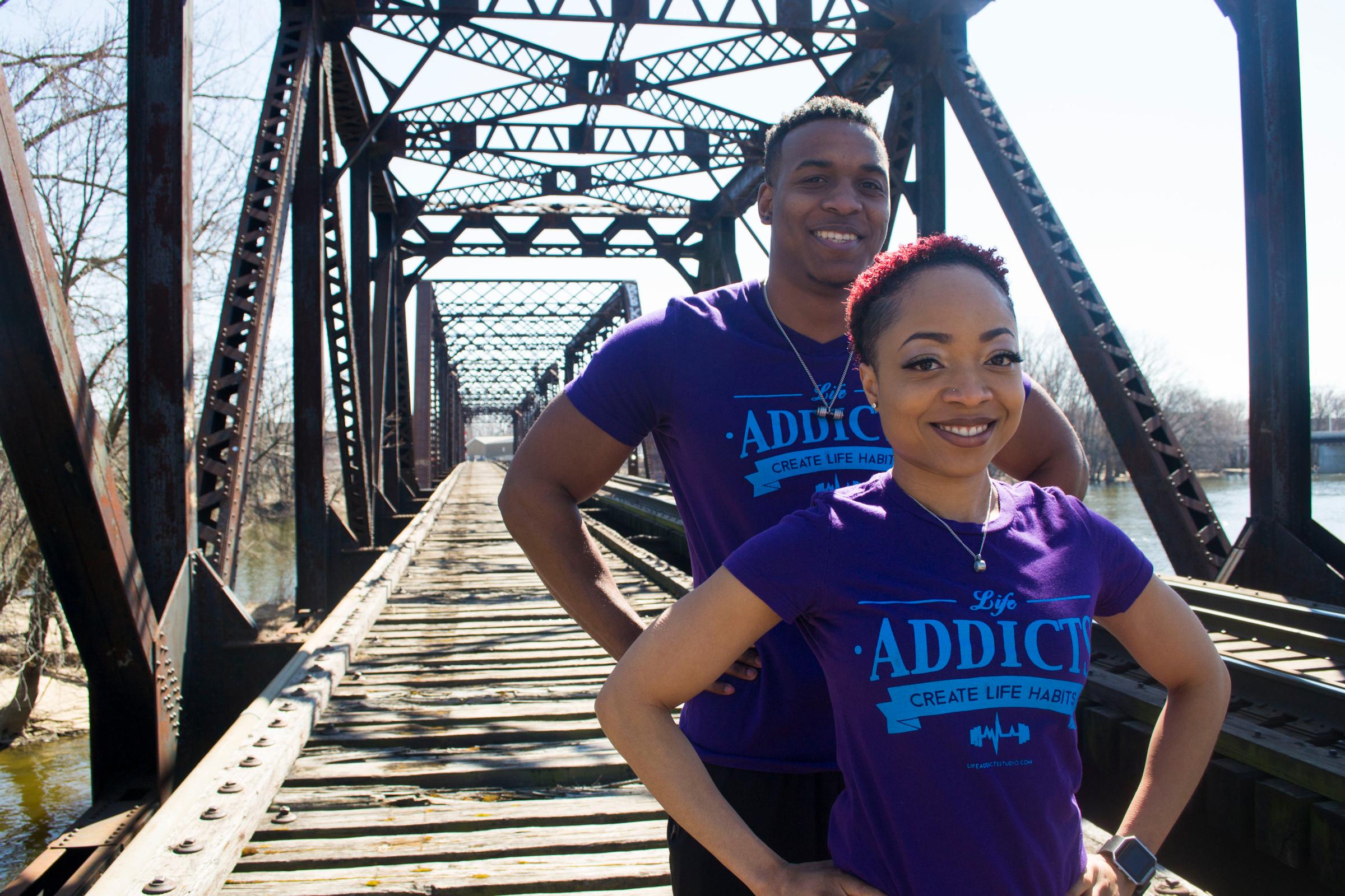Life Addicts husband & wife team Travis Washington and Whitney Lavette