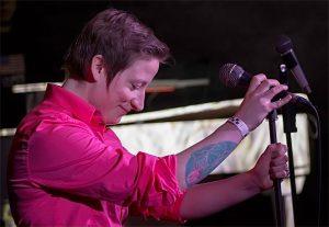Rachel Gleason performs regularly in Grand Rapids.