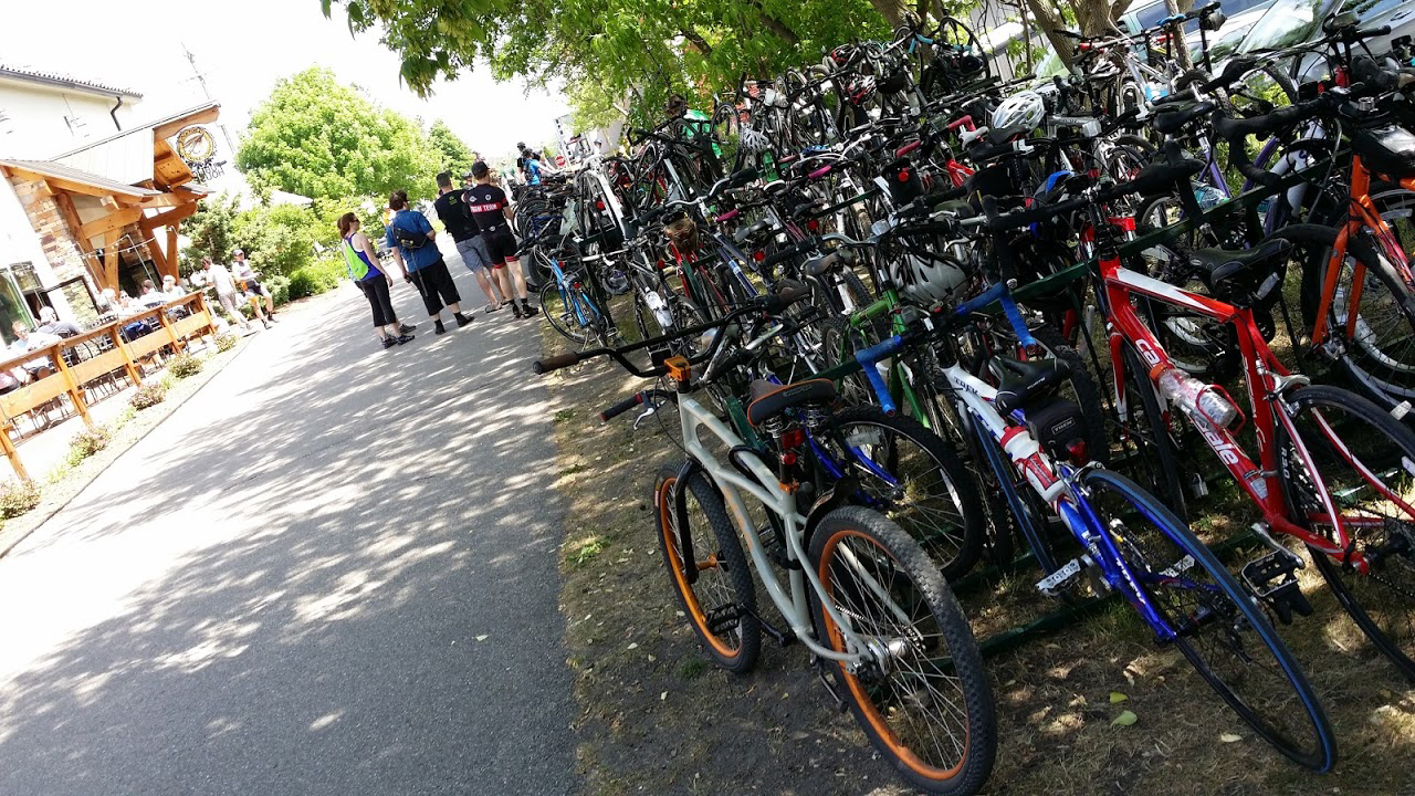 Group bike rides are growing in popularity as people become more comfortable biking in Grand Rapids.