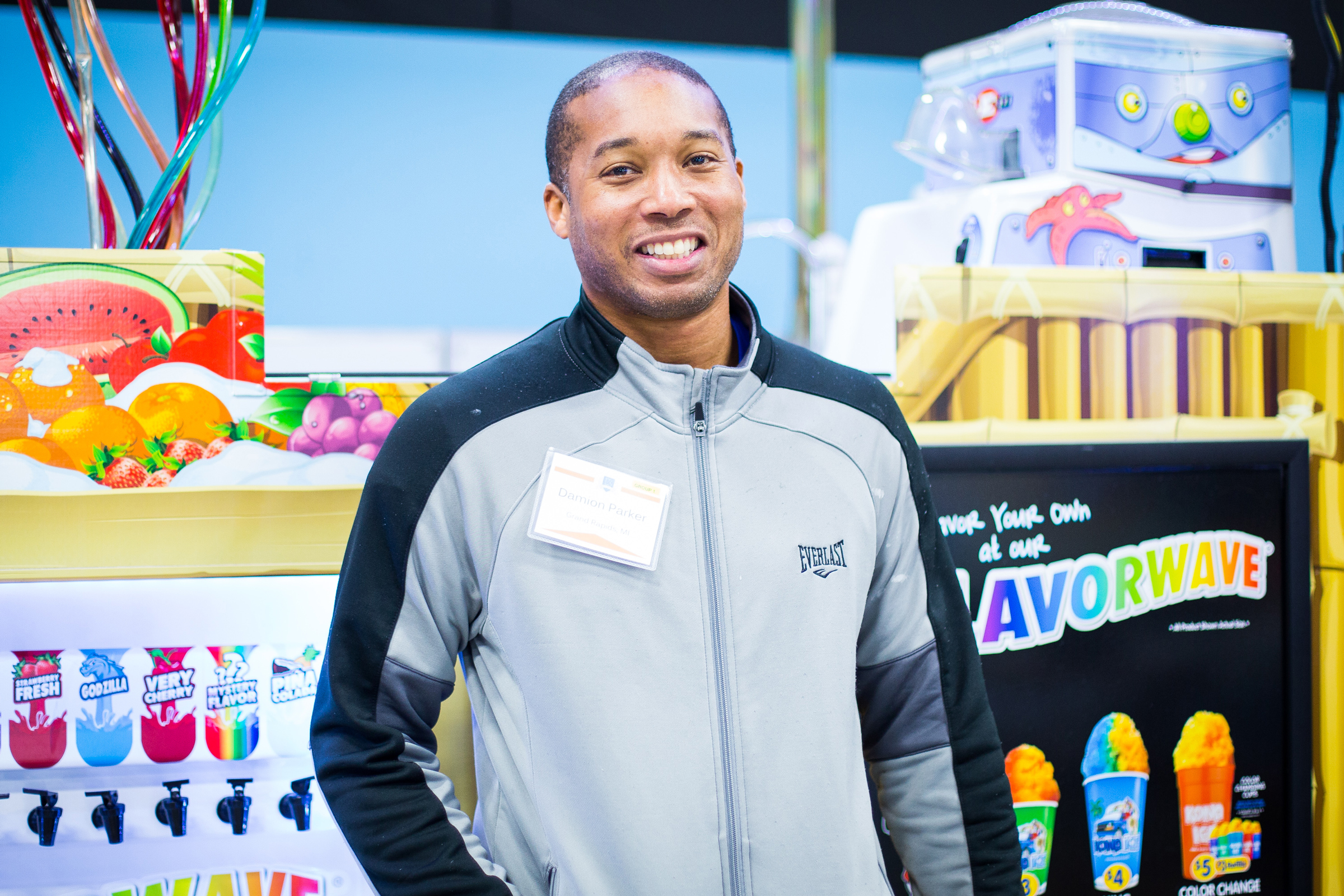 Damion Parker was looking to make a career change when he learned about Kona Ice.