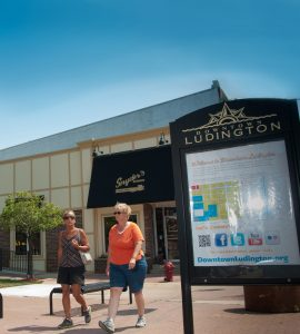 Visit Ludington's many retail shops and restaurants.