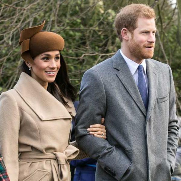 Prince Harry & Meghan Markle, by Mark Jones
